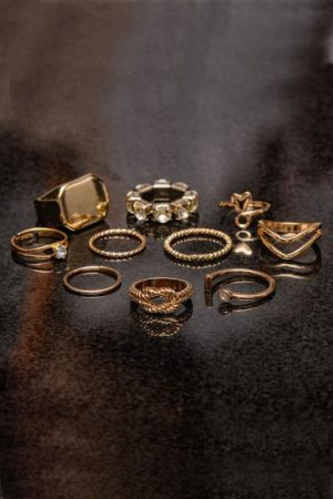 Gold-Ring-Set